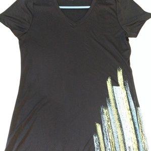 Women's Reebok Black Shirt M